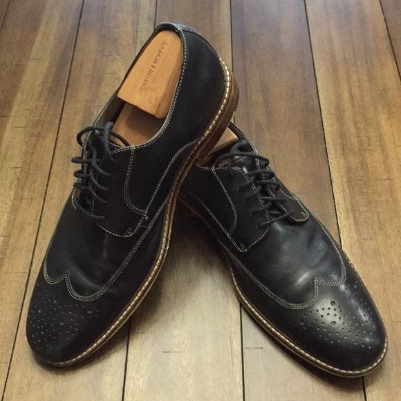e00f934d8027 Banana Republic Other - Banana Republic Black Oxford Wingtip shoes